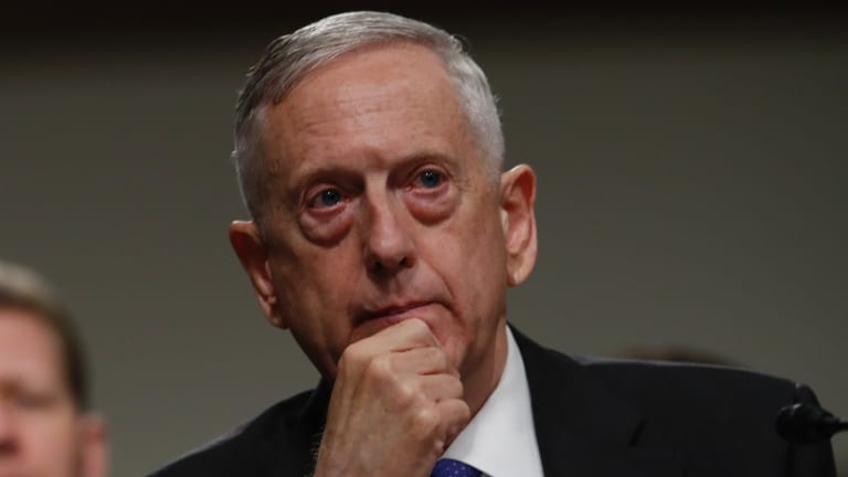 """James Mattis: """"The DPRK regime's actions will continue to be grossly overmatched by ours and would lose any arms race or conflict it initiates."""""""