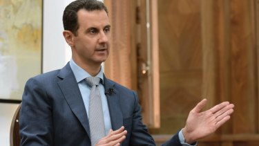 Syrian President Bashar al-Assad's government denied using chemical weapons on its own people.