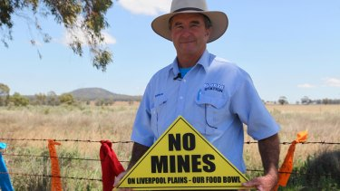 Andrew Pursehouse, from Breeza Station, is pleading with the Premier to protect the Liverpool Plains