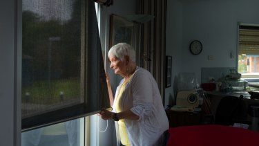 Marj Woollard, 88. The Consumer Action Law Centre has taken her case to VCAT because her housing was at risk.
