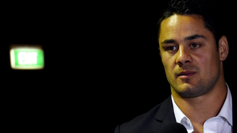 Jarryd Hayne: He needs them more than they need him.