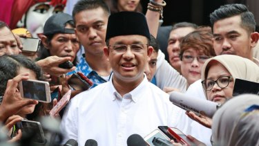 Anies Baswedan looks certain to become Jakarta's next governor.