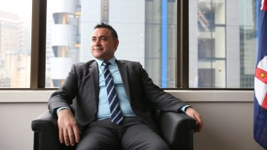 NSW Skills Minister John Barilaro.