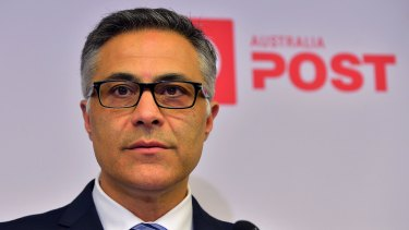 Australia Post CEO Ahmed Fahour introduced two-speed mail in January.