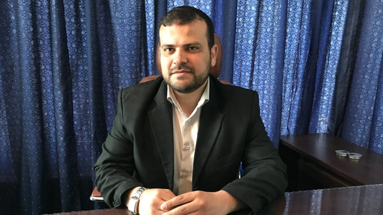 Hani Muqbel, head of the Hamas Youth Department in Gaza, says Hamas does not want another war but has issues with Israel over land.