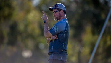 Assistant coach Dan McKellar will be named as the Brumbies Head coach for the 2018 season. Photo by karleen Minney.