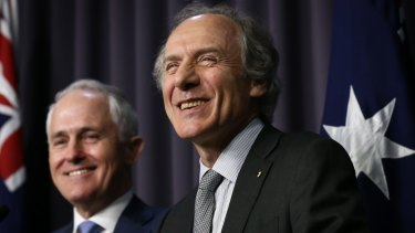 """Dr Finkel says he's confident he'll have a """"receptive audience"""" in the Turnbull government."""