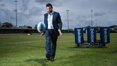 "Waratahs CEO Andrew Hore: ""We feel as a state we've fallen behind the other states."""