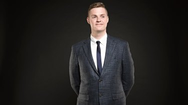 """Comedian Tom Ballard says comedy can """"yell the truth in your face""""."""