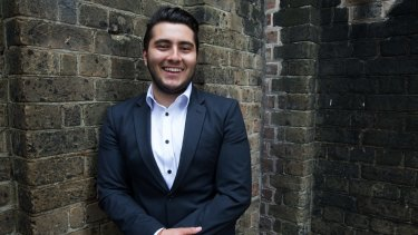 Syrian refugee Hicham Jansis came  first in Arabic Extension in the HSC.