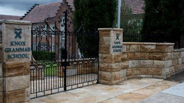 The royal commission will conduct a public hearing into Knox Grammar School in Wahroonga.