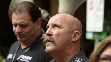 CFMEU bosses John Setka and Shaun Reardon are facing blackmail charges.