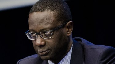 Credit Suisse chief executive Tidjane Thiam is upbeat about the bank's future.