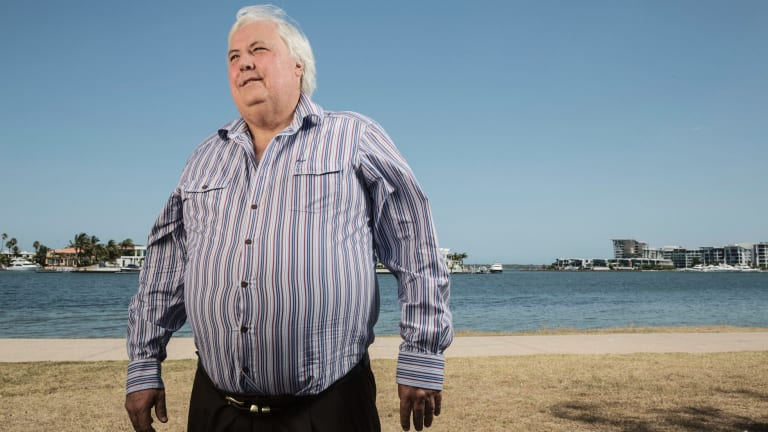 Clive Palmer has rented a home at the Gold Coast for the family.