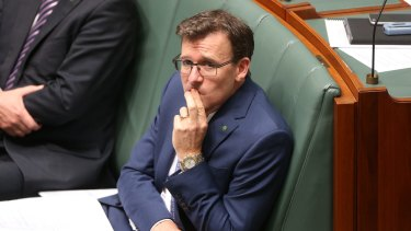 Human Services Minister Alan Tudge