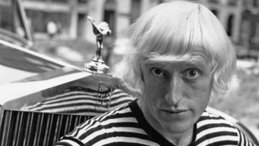 Dame Janet Smith's report identified eight rapes by Jimmy Savile on BBC premises, one attempted rape, and other sexual assaults, from 1959 to 2006. BBC's star presenter on 20th July 1964, pictured.