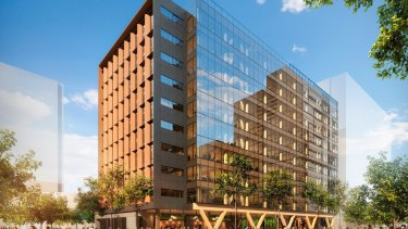 Lendlease has sold its tallest engineered timber office building, 5 King at Brisbane Showgrounds, in a deal worth $140 million.