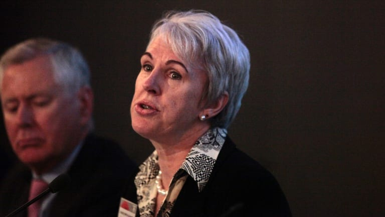 Transfield chairman Diane Smith-Gander has defended her company's record.
