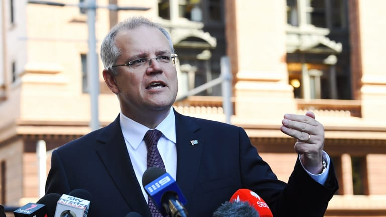 "Scott Morrison says banks that hide behind the new rules to charge more for loans ""have to face their customers""."