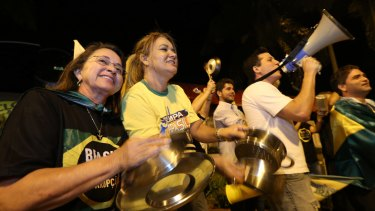 Banging on pots and pans has become a central element of protests against Brazilian President Dilma Rousseff.