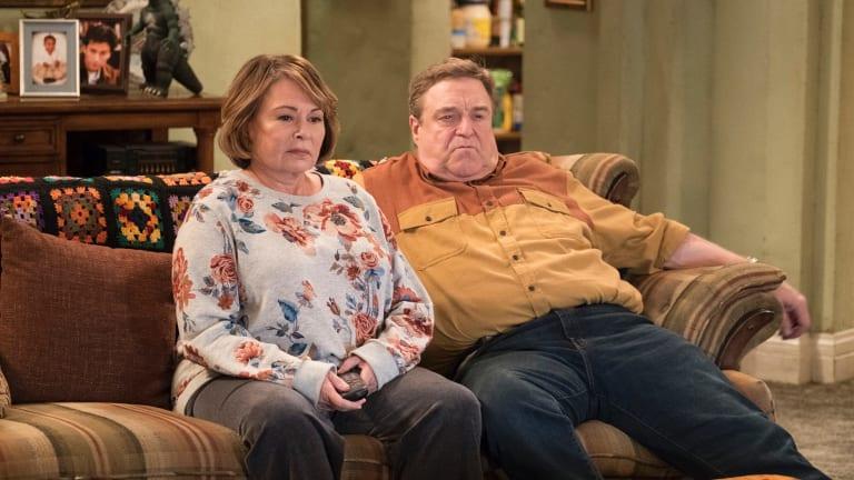 Roseanne Barr and John Goodman on the new Roseanne.