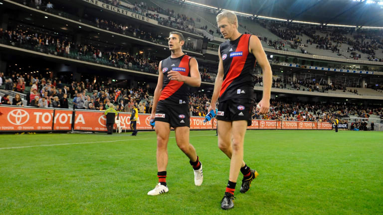 Jobe Watson and Dustin Fletcher may have to sit out an extra week of the home-and-away season if any suspension is backdated until the end of last season.