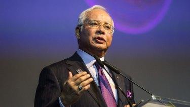 Najib Razak, Malaysia's prime minister, in Kuala Lumpur last year.
