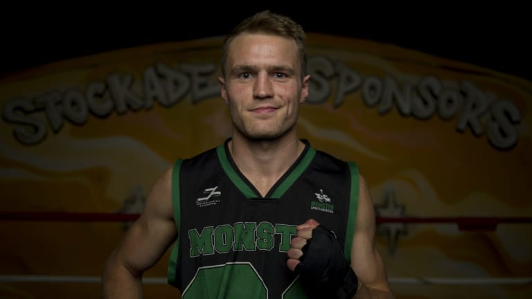 Canberra boxer Dave Toussaint will face New Zealand's Jordan Tai for the ANBF Australasian Super Middleweight Boxing Title on Friday night.
