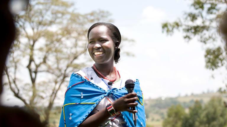 Dr Kakenya Ntaiya.