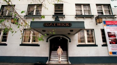 End of an era: The Gatwick Hotel is up for sale.