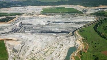 Wambo mine in the Hunter Valley.