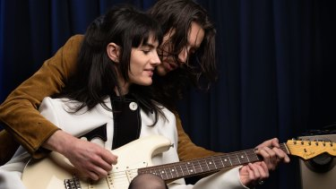 The Preatures' Isabella Manfredi and Jack Moffitt. Their new album revels in the band's obvious love for the Pretenders and Blondie.