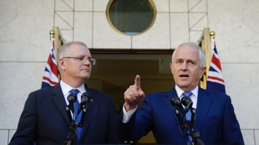 Malcolm Turnbull and Scott Morrison were forced into a humiliating backflip on a banking royal commission.