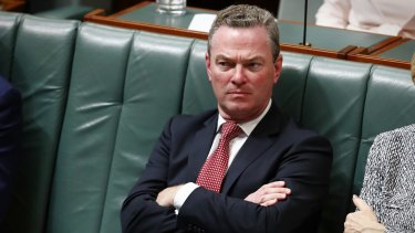 Minister for Defence Industry Christopher Pyne