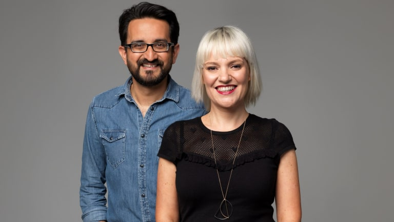 Sami Shah and Jacinta Parsons are replacing Red Symons on ABC Radio Melbourne.