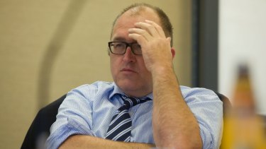 """Committee of Sydney's Tim Williams: """"I also apologise to members for this untypical event."""""""