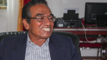 East Timorese President Francisco Guterres, known as Lu-Olo.