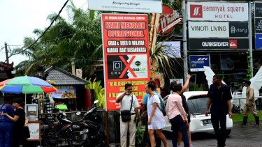 Balinese taxidrivers were furious about the arrival of Uber on the island.
