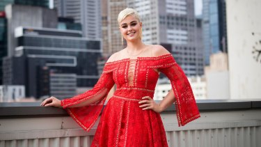 'When we talk about size we shouldn't be using terms such as plus size' ... model Stefania Ferrario, one of the faces of Melbourne Fashion Week.
