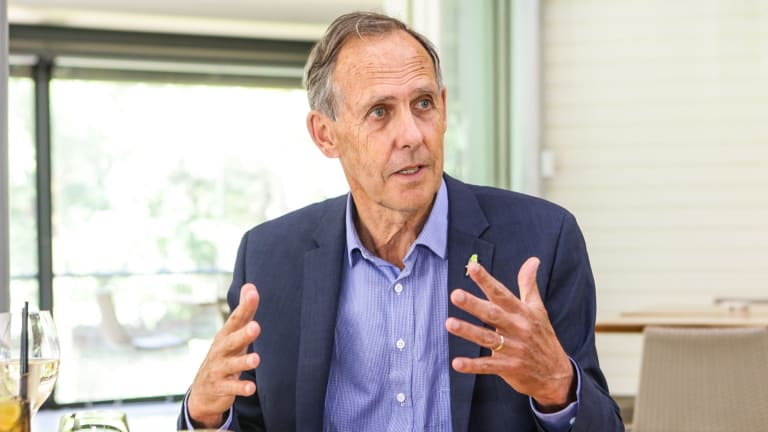 """""""Nothing brings Labor and Liberal together faster than attacking the Greens"""": former Greens leader Bob Brown."""