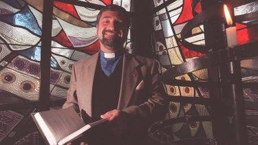 Letter of comfort: The Right Reverend Richard Hurford in 1997.