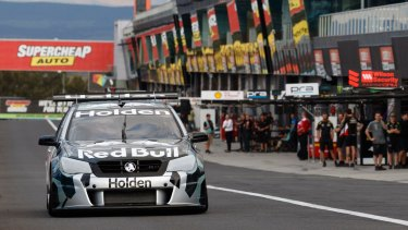 Holden's V6-powered Supercar engine is making its public debut at Bathurst.