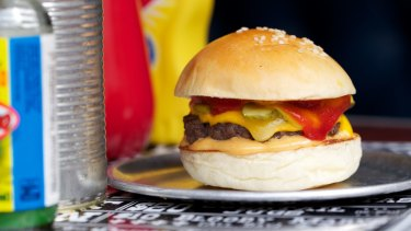 Bill Gates says one of his favourite meals is the humble cheeseburger.