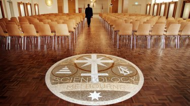 The Church of Scientology buildiing in Ascot Vale.