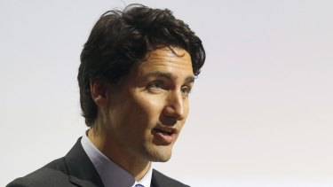 Canadian Prime Minister Justin Trudeau.