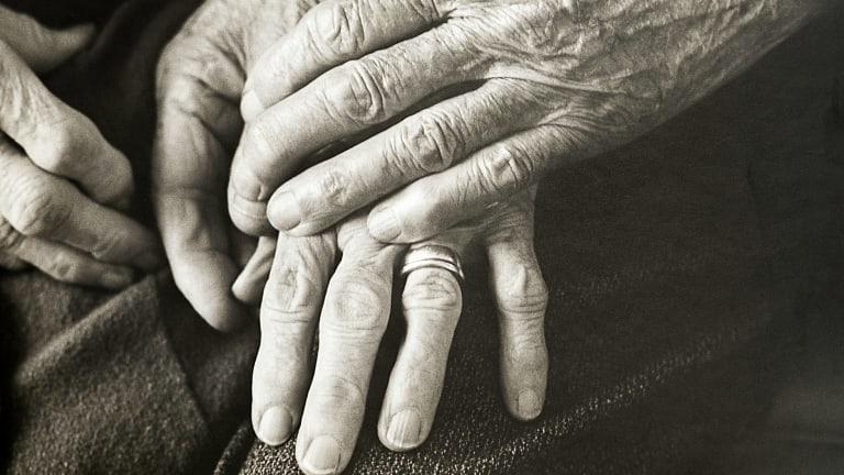 Frank Guy's Family hands (detail), c. 1975.