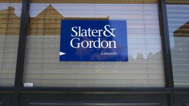 Slater & Gordon's shares dived on the British law change warning.