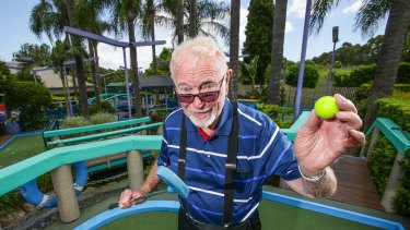 Final tees: Tom Wykoff opened Putt Putt in 1969 at Ermington.