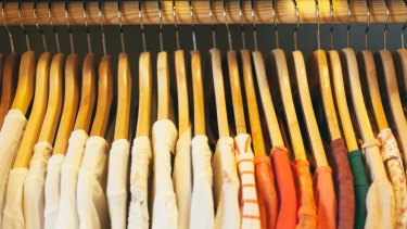 It's time to de-clutter your wardrobe.