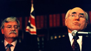"August 2002: John Howard announces the $25 billion ""gold medal"" deal to supply gas from the North West Shelf to China."
